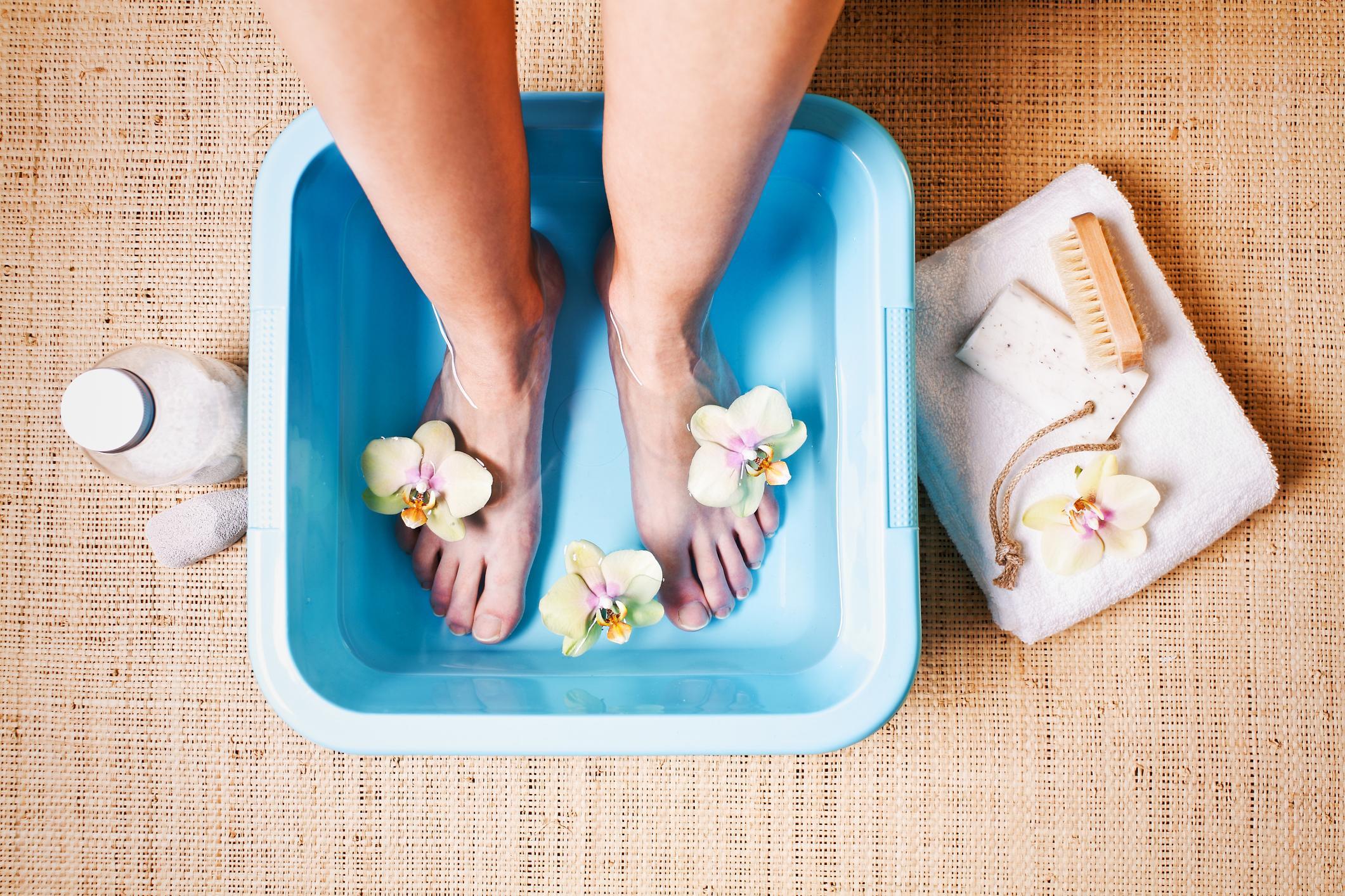 01.12 – Start adventstiden med at avstressende fotbad