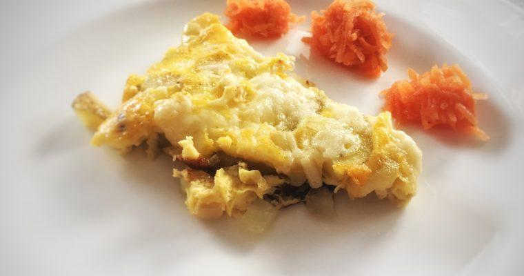 14.12. – Enkel middag, omelett med potet og løk