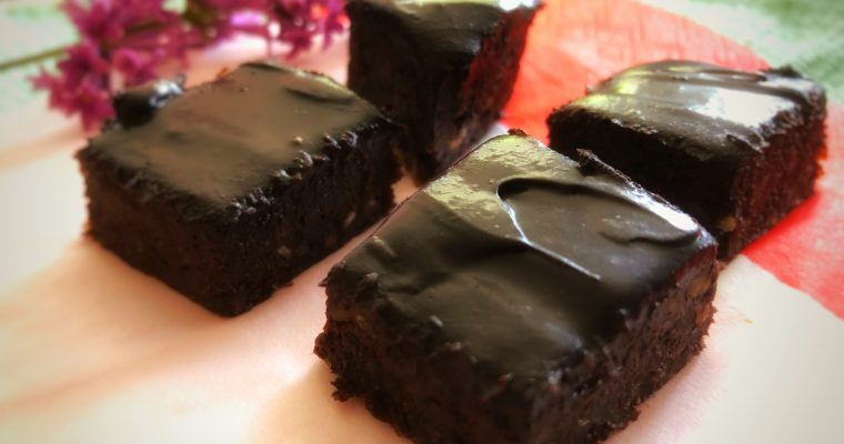 Nydelig og enkel raw brownie